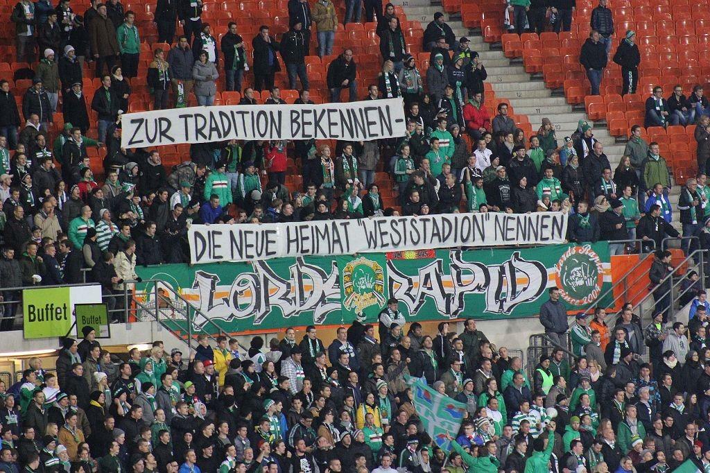 Sk Rapid Sturm Graz Weststadion In Hutteldorf