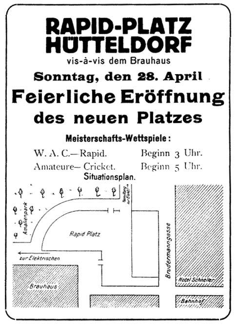 1912_Pfarrwiese_Eröffnung_Anzeige_2